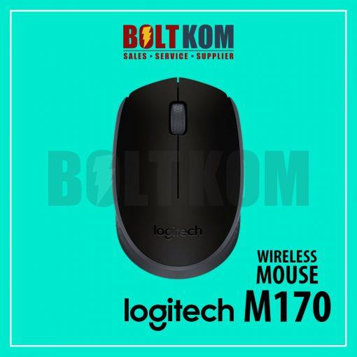 Mouse Wireless Logitech M170 Asli Original